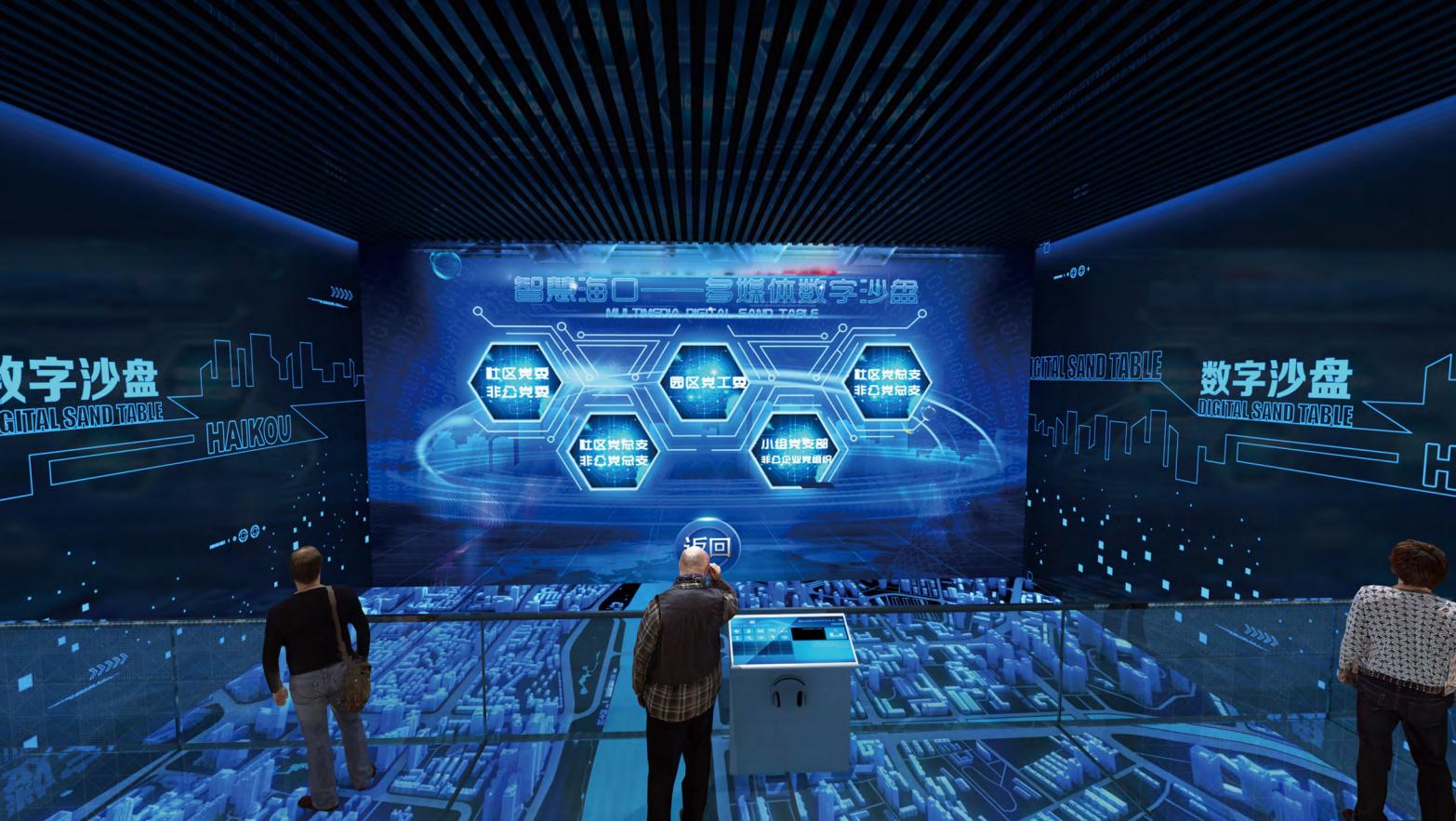 互动多媒体_虚拟数字投影沙盘——鸿光数字多媒体_北京鸿光科技有限公司